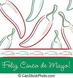 Cinco De Mayo - Feliz Cinco de Mayo Happy 5th of May hand...