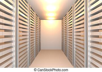 white data room