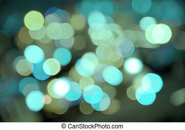 Water lights - Abstract background of watery blurred street...