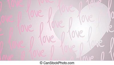 Love background - Creative design of love background