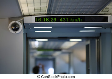 shanghai maglev train - magnetic levitation train in...