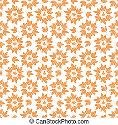 Seamless background, leaves
