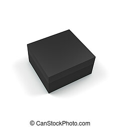 Prestige Box - 3D Illustration of Prestige Box Isolated on...