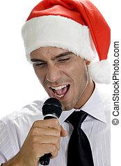 macho, canto, karaoke