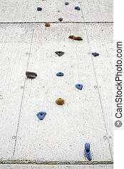 Extreme Sports - Climbing wall climbing sport outdoor...