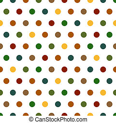Polka Dots Background - Seamless Polka Dots background...