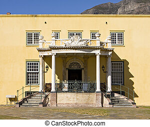 Kat Balcony - The Kat Balcony in the Castle of Good Hope in...