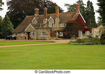 Another English country house - A stone and pantile English...