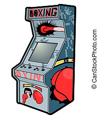 Boxing arcade - Creative design of boxing arcade
