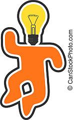 brilliant idea - Creative design of brilliant idea