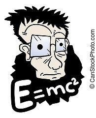 Face scientific - Creative design of face scientific