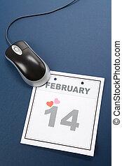 Calendar Valentines Day - Valentines Day, calendar date...