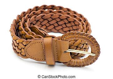 belts  - women belts on a white background