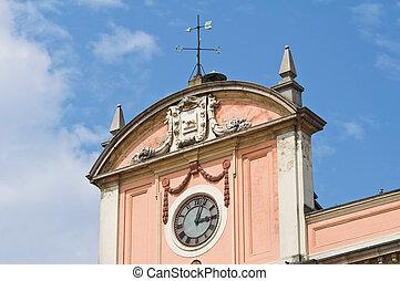 Government Building. Piacenza. Emilia-Romagna. Italy.