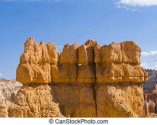 beautiful landscape in Bryce Canyon with magnificent Stone...