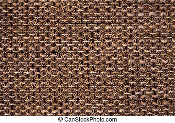 Textile and texture in brown shades