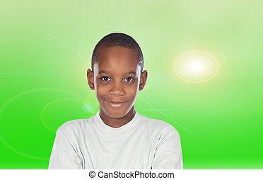 Adorable African boy