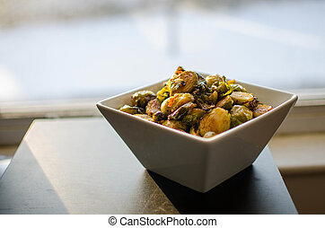 Misunderstood Superfood - Roasted brussel sprouts with a...