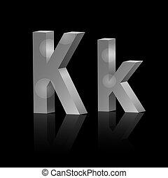 Vector letter K