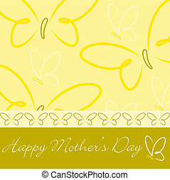 Happy Mother's Day! - Happy Mother's Day butterfly card in...
