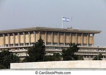 The Knesset. December 2012, Jerusalem