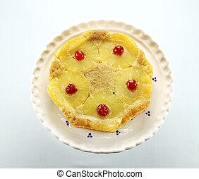 Pineapple Upside Down Cake - Fresh baked pineapple upside...