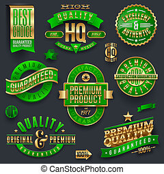 Quality and guaranteed vector labels - Quality and...