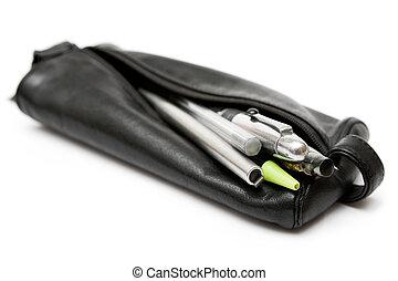 皮革, 鉛筆, 袋子