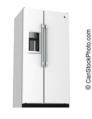 Fridge - Rendered artwork with white background