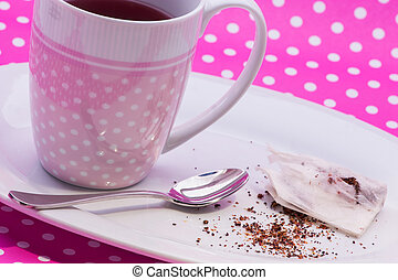 Cranberry tea bag
