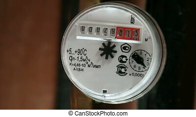 Water meter work