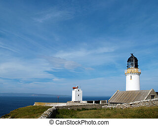 Lighthouse at Dunnet Head, Caithness, Scotland - Dunnet Head...