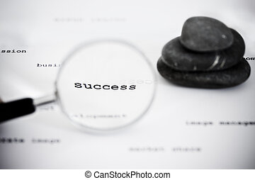 find success in the business world - zen stones and...