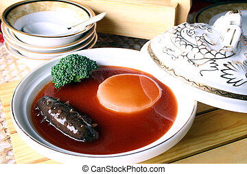 china delicious food??sea slug - food in china??sea slug