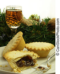 Mince tarts and sherry