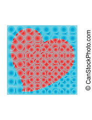 Abstract hert - Creative design of abstract heart