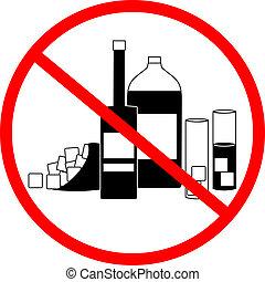 No drink - Creative design of no drink