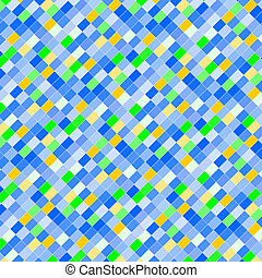 Color mosaic - Creative design of color mosaic