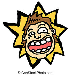 ugly cartoon man - Creative design of ugly cartoon man