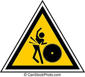 Danger cut - Creative design of danger cut