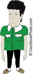 Character dwarf - Creative design of carcter dwarf