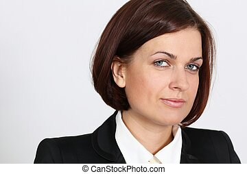 Portrait of a successful middle aged business woman?