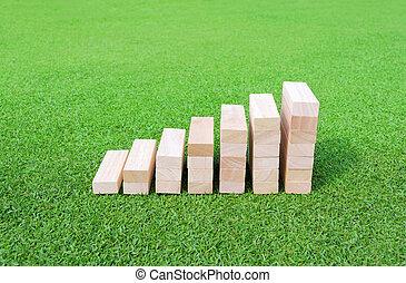 圖表, 木頭, 綠色, 領域