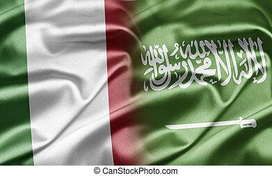 Italy and Saudi Arabia