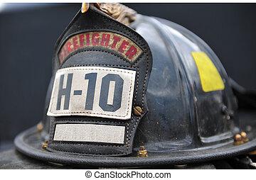 Old firemans hat