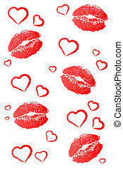 Kisses and Hearts