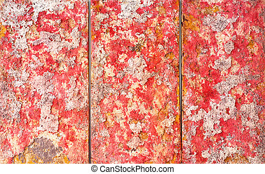 Picture - Close up of a red and pink picture