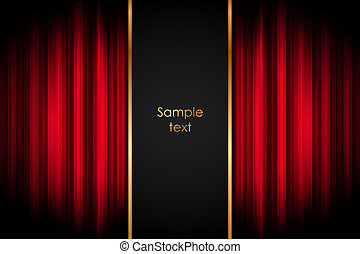 Stage - Vector background