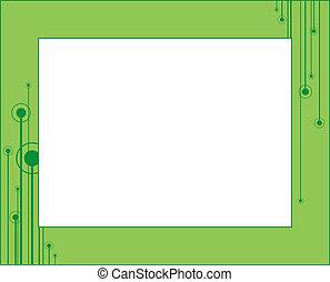 Decorative framework 1 - Decorative framework for a photo An...