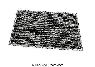 carpet - gray carpet on a white background